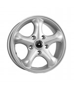 Replica FR Ssang Yong New/Action New 7,0R16 5*112 ET39,5 d66,5 Silver [594]